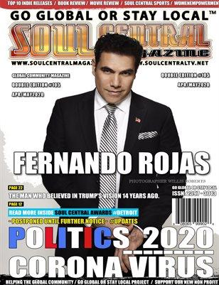 Soul Central Magazine #Editon #105 #Fernando #Rojas