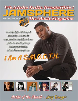 Jamsphere Indie Music Magazine November 2016