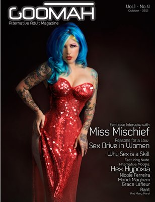Goomah Magazine - October 2012 - Cover One