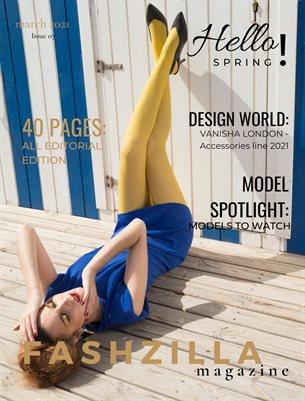 Fashzilla Magazine - March 2021