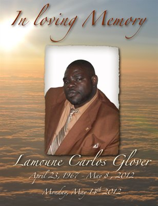 Lamoune Carlos Glover Obituary