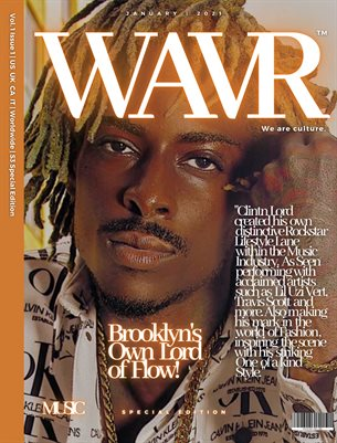 Clintn Lord WAVR Mag Special Edition January 21' Issue (Printed Magazine)
