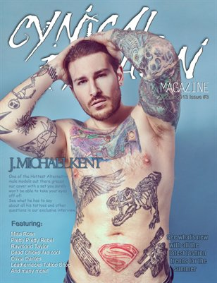 Cynical Fashion Mag Issue #3 J Michael Kent Cover