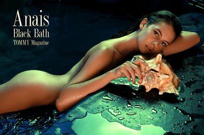 Anais - Black Bath - Poster A