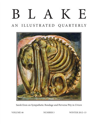 Blake/An Illustrated Quarterly vol. 46, no. 3 (winter 2012-13)