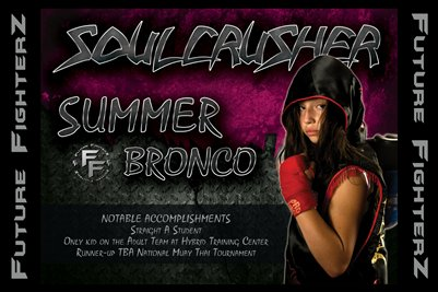 THE SOUL CRUSHER Summer Bronco Poster