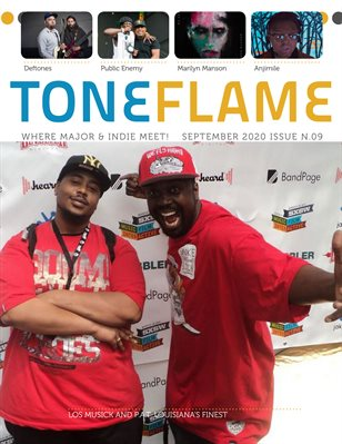 ToneFlame Magazine September 2020