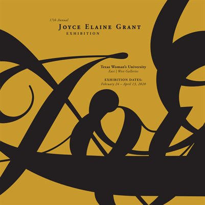 17th Annual Joyce Elaine Grant Exhibition Catalog