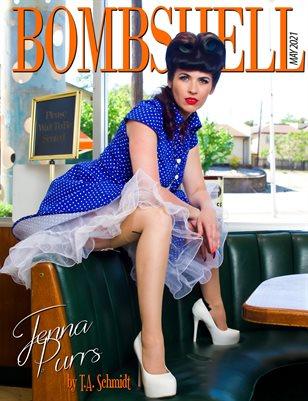 BOMBSHELL Magazine May 2021 BOOK 2 - Jenna Purrs Cover