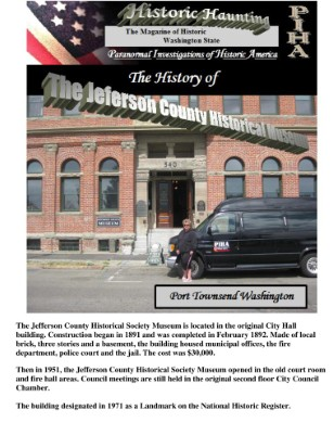 The Jefferson County Historical Museum in Port Townsend Washington