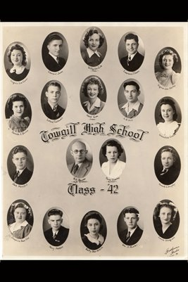Class of 1942 Cowgill High School, Caldwell County, Missouri