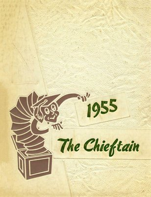 1955 The Chieftain Yearbook, Bardwell, Carlisle County, Kentucky