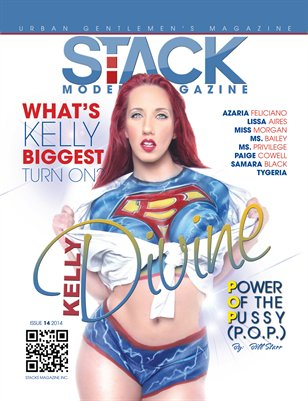 Stack Models Magazine Issue 14 Kelly Divine Cover