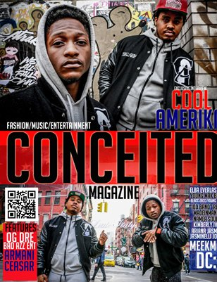 Conceited Magazine ft Cool Amerika