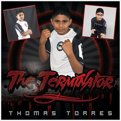 Thomas Torres 8x8 Comp Card