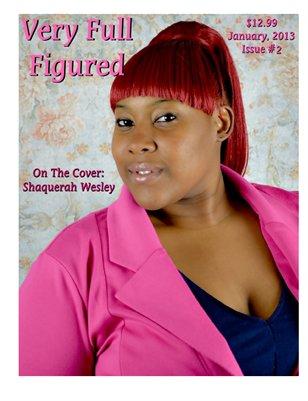 Very Full Figured Magazine January, 2012