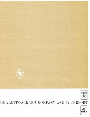 HP Annual Report 1961