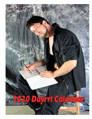 2020 Dayrrl calendar