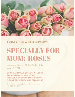 Mother's Day by Today Flower Delivery