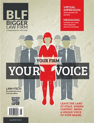 Your Firm Your Voice - June 2012