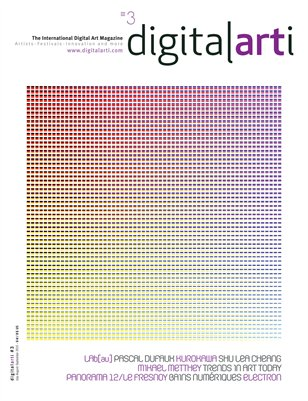 The international Digital Art quarterly magazine. Issue 3, Q3 2010