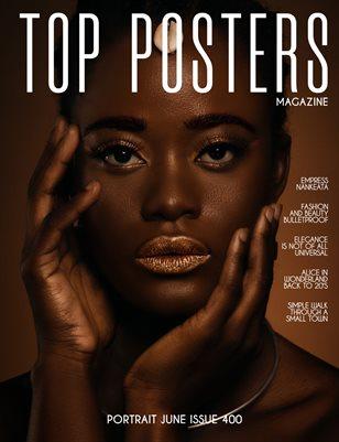 TOP POSTERS MAGAZINE- PORTRAIT JUNE (Vol 400)