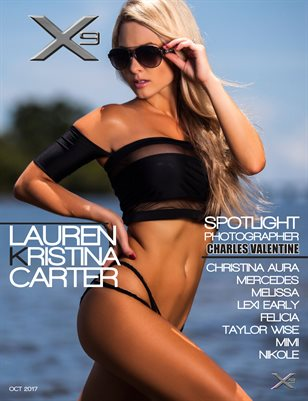 X9 Men's Magazine #06 (Lauren Kristina Carter)