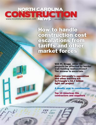 North Carolina Construction News (April/May 2019)