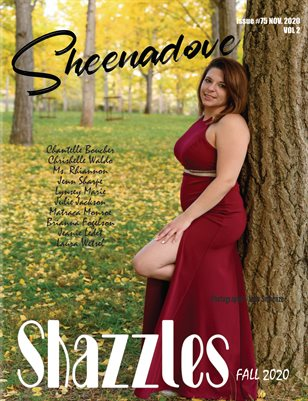 Shazzles Fall Issue #75 VOL 2 Cover Model Sheenadove