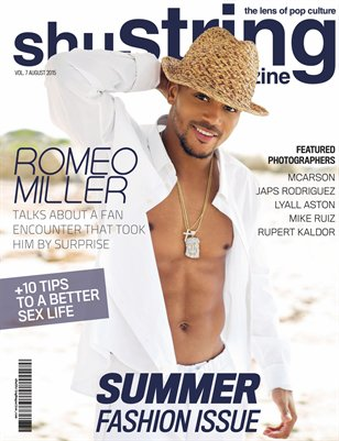 shuString Magazine Summer Fashion Issue 6