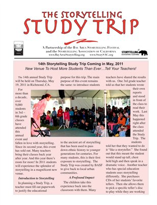 Introducing the Storytelling STUDY TRIP for youth