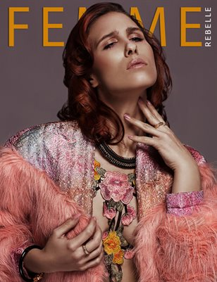Femme Rebelle Magazine APRIL 2017 - BOOK 1 Oliver Thielmann Cover