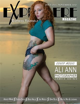 Exprimere Magazine Issue 014 Ft Ali Ann