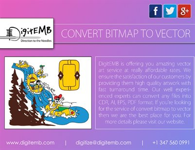 Convert Bitmap to Vector