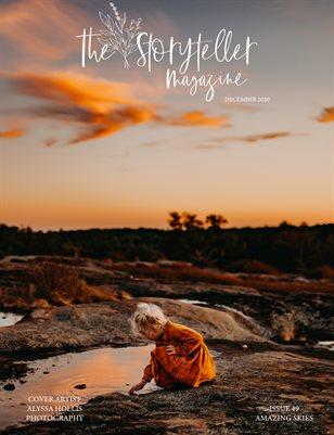 The Storyteller Magazine Issue #49 Amazing Skies
