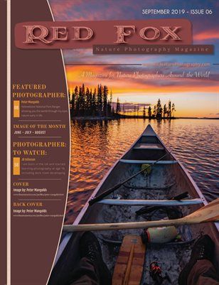 Issue 06: Fall 2019 - Red Fox Nature Photography Magzine