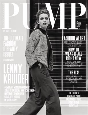 PUMP Magazine - The Fashion Legends Vol 4