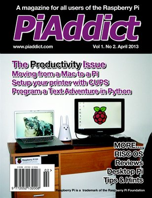 PiAddict Magazine Vol.1 No.2
