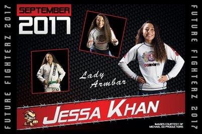 Jessa Khan Cal Poster 2017