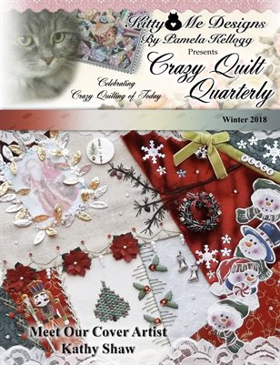 Crazy Quilt Quarterly Winter 2018