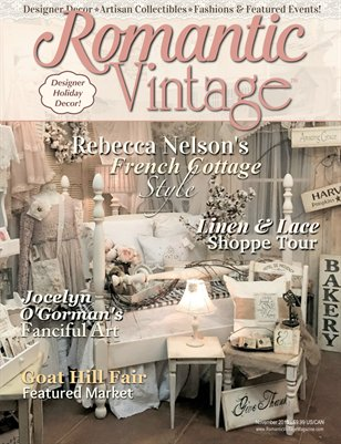 Romantic Vintage™ Magazine ~ November 2015