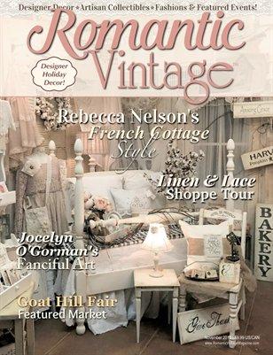 Romantic Vintage™ Magazine ~ November 2015