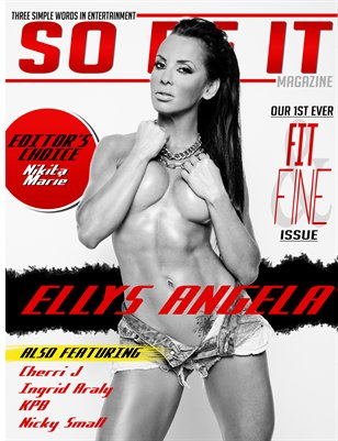 SO BE IT MAGAZINE Issue 22 (ELLYS ANGELA/SUMMER)