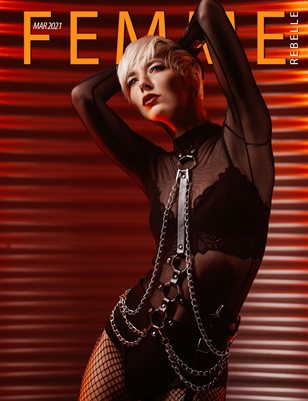 Femme Rebelle Magazine March 2021 - Cleo Capture Cover