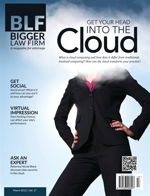 Get Your Head into the Cloud - March 2013