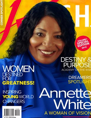 K.I.S.H. Magazine featuring  Annette White
