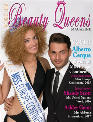 World Class Beauty Queens Magazine with Alberto Cerqua