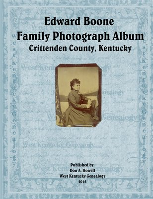 Edward Boone Family Photograph Album, Crittenden County, Kentucky