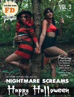 Fuzion Dark : Tiara Wright & Kylee Janay Halloween 2020 Vol.3  Cover 1