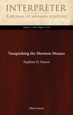 Vanquishing the Mormon Menace
